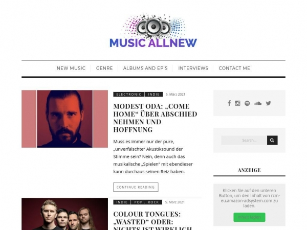 music-allnew.com